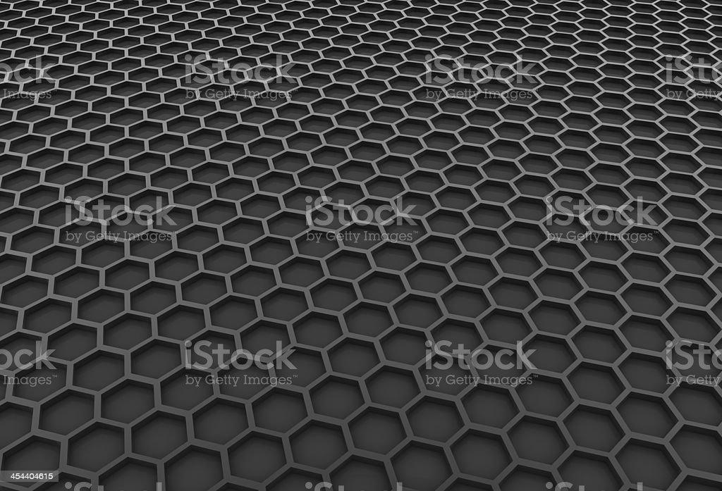 Black honeycomb royalty-free stock photo