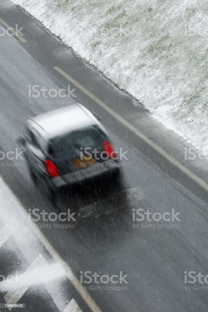 Black Ice stock photo