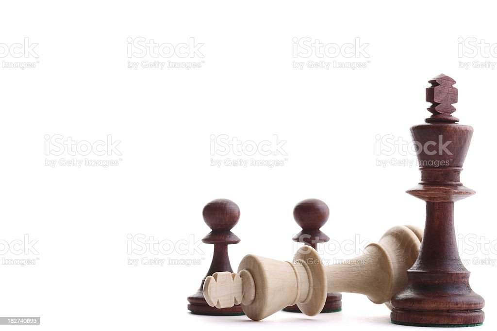 Black is Winning royalty-free stock photo