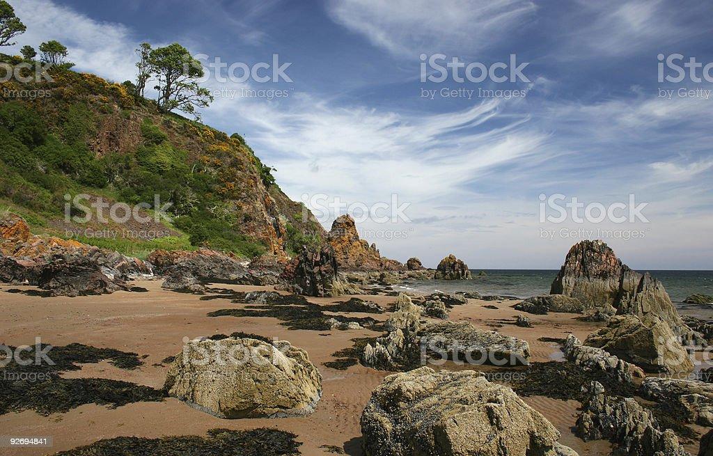 Black Isle Coast royalty-free stock photo