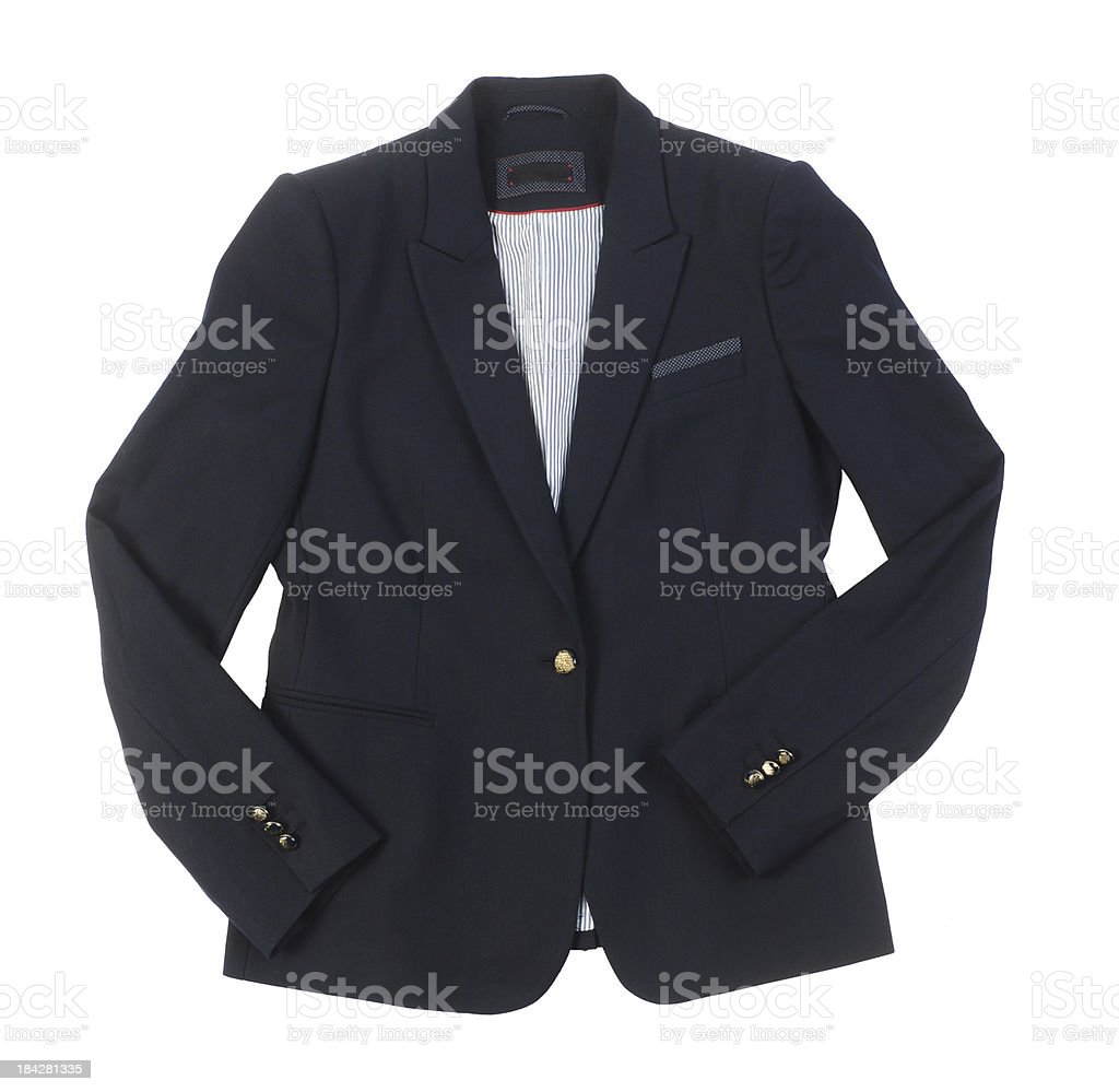 Black Jacket royalty-free stock photo
