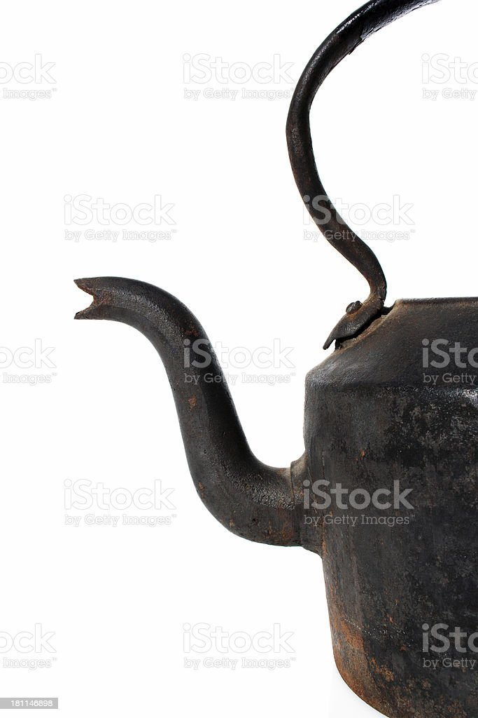 black kettle royalty-free stock photo