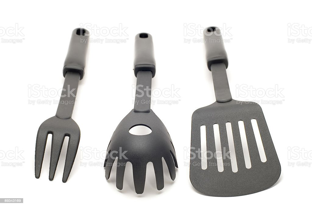 Black kitchen utensil royalty-free stock photo