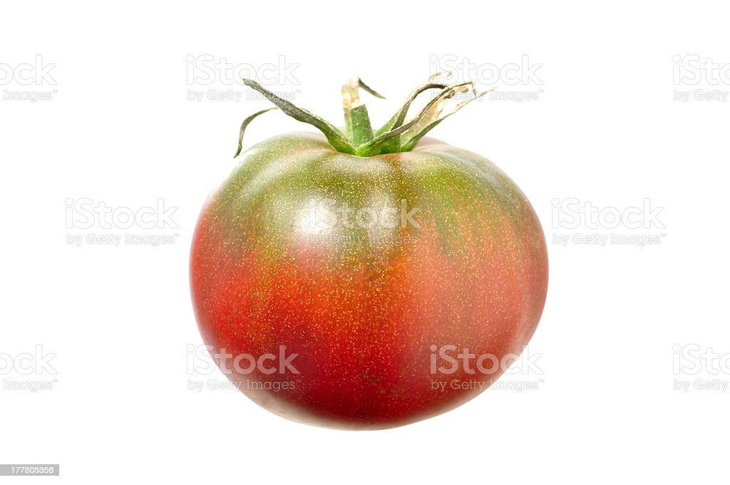 Black Krim tomato stock photo