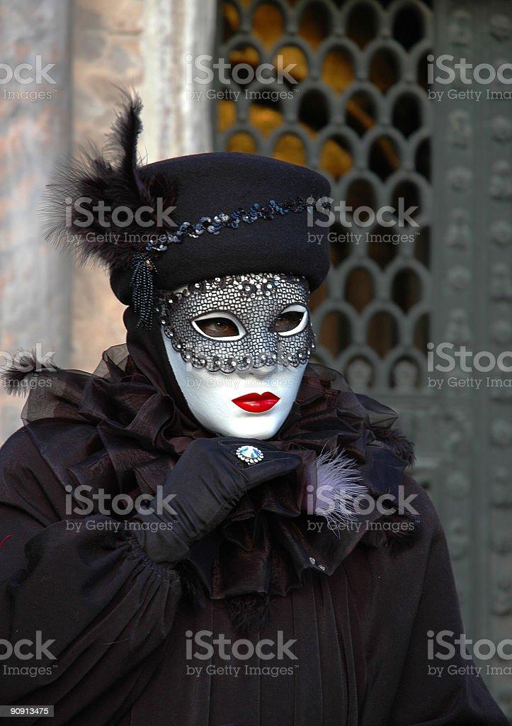 Black Lace royalty-free stock photo