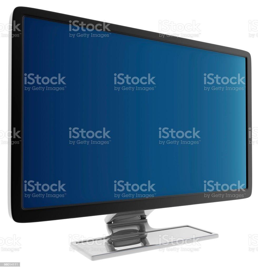 Black LCD royalty-free stock photo