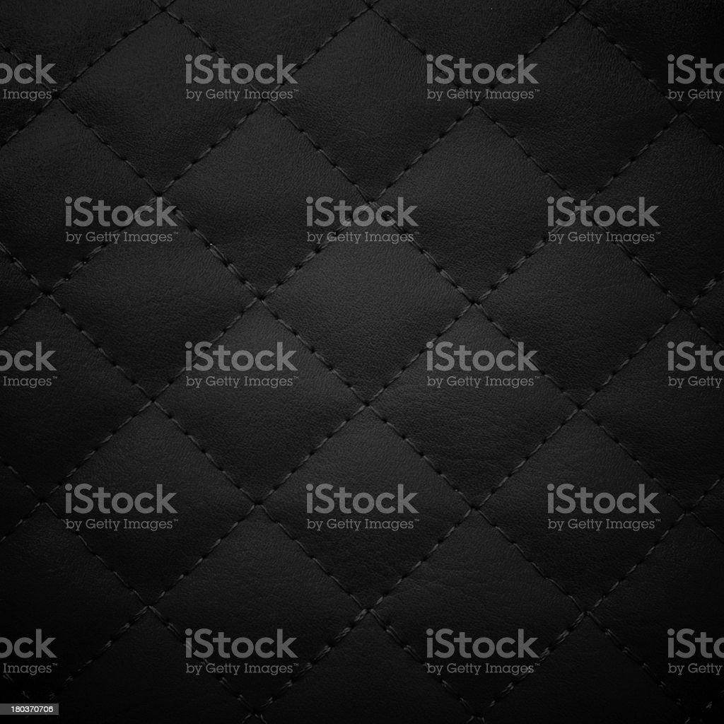 Black leather background, stock photo