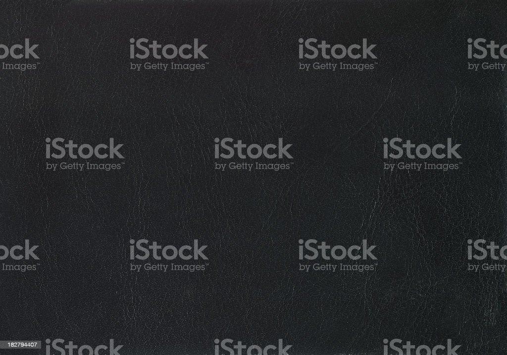 Black leather. stock photo