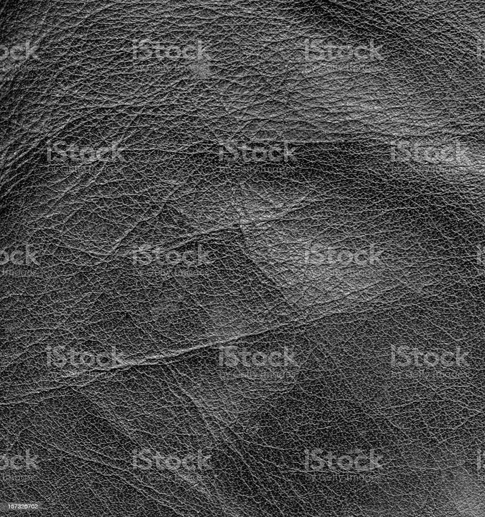 black leather surface stock photo