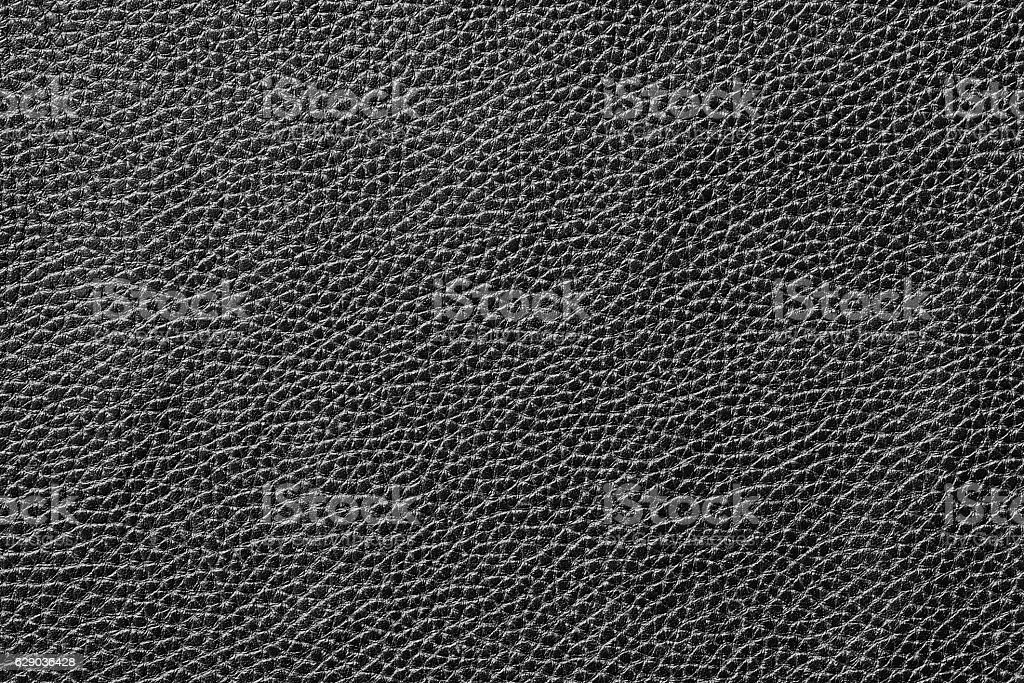 Black leather texture background surface stock photo