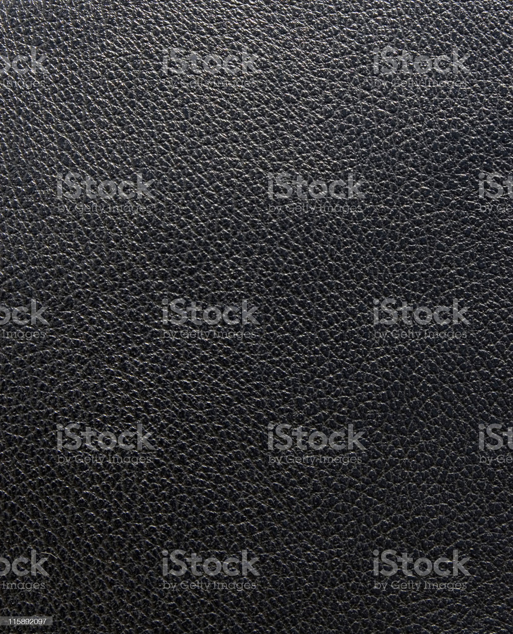 Black Leather Texture royalty-free stock photo