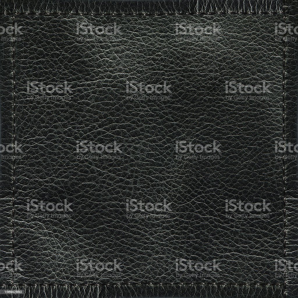 Black Leather Texture (XXXL) royalty-free stock photo