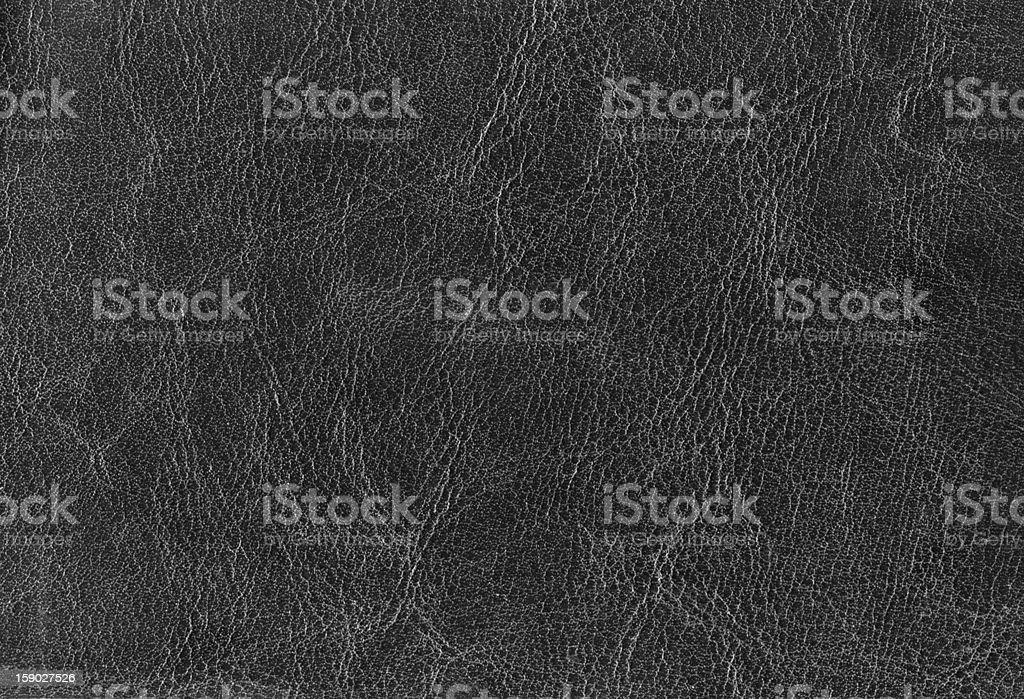 Black Leather Texture (XXXL) royalty-free stock photo