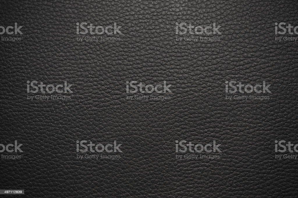 XXXL - Black Leather Texture. stock photo