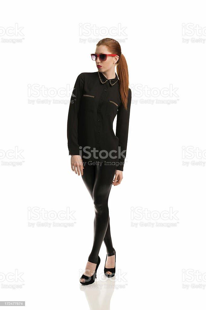 Black leggings royalty-free stock photo