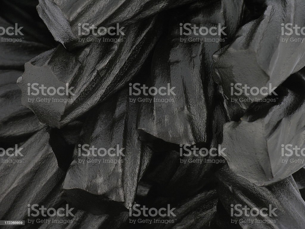 Black Licorice Background stock photo