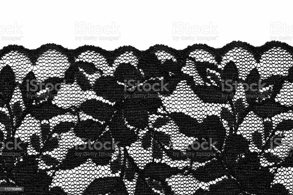 Black lingerie lace royalty-free stock photo