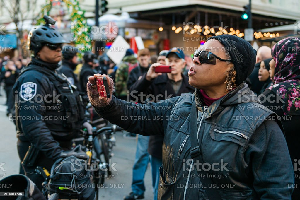 Black Lives Matter stock photo