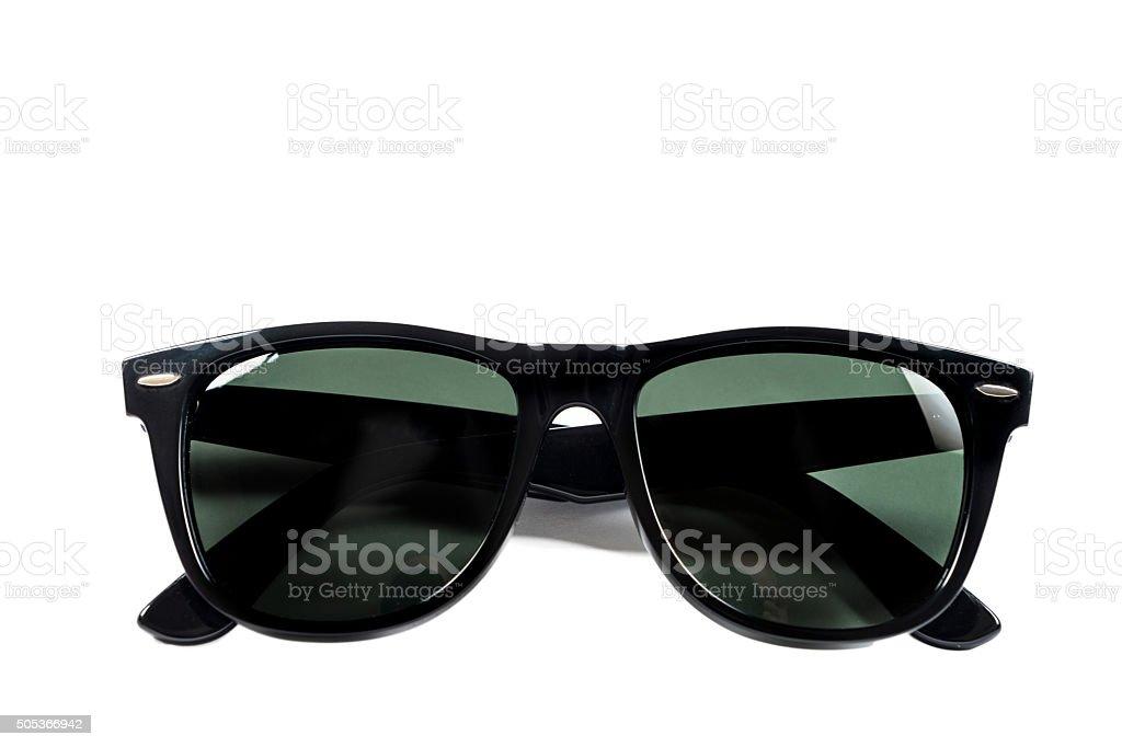 Black male sunglasses stock photo