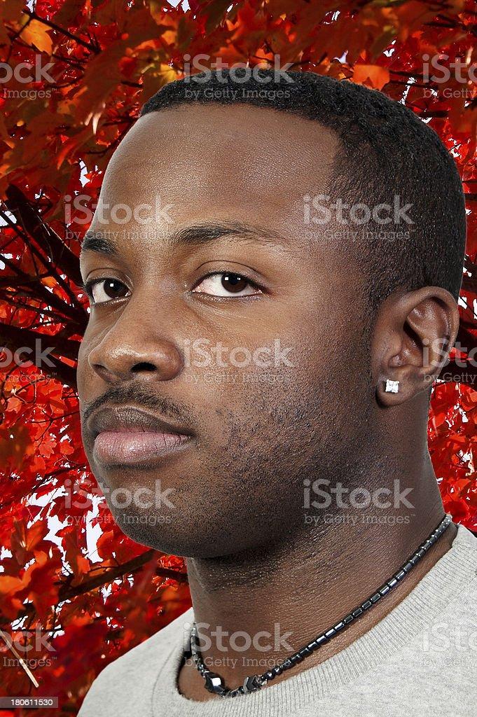 Black Man royalty-free stock photo