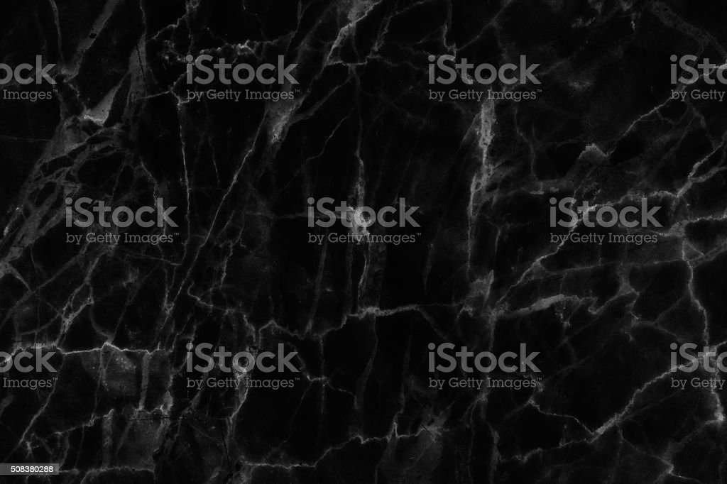 Black marble natural pattern for background. stock photo