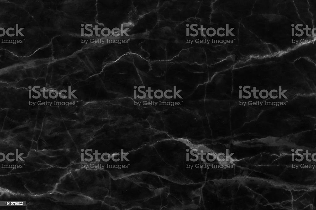 Black marble texture background, detailed structure of marble (high resolution). stock photo