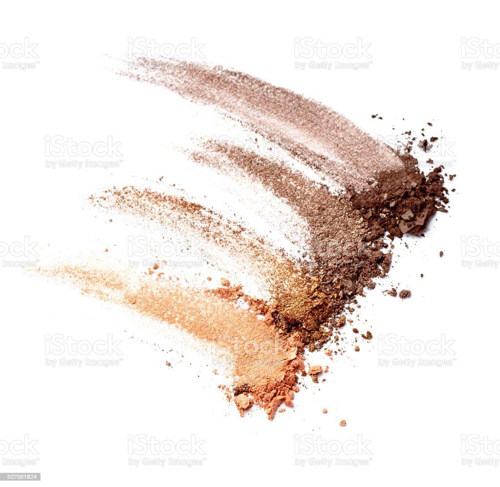 black mascara face powder beauty make up stock photo