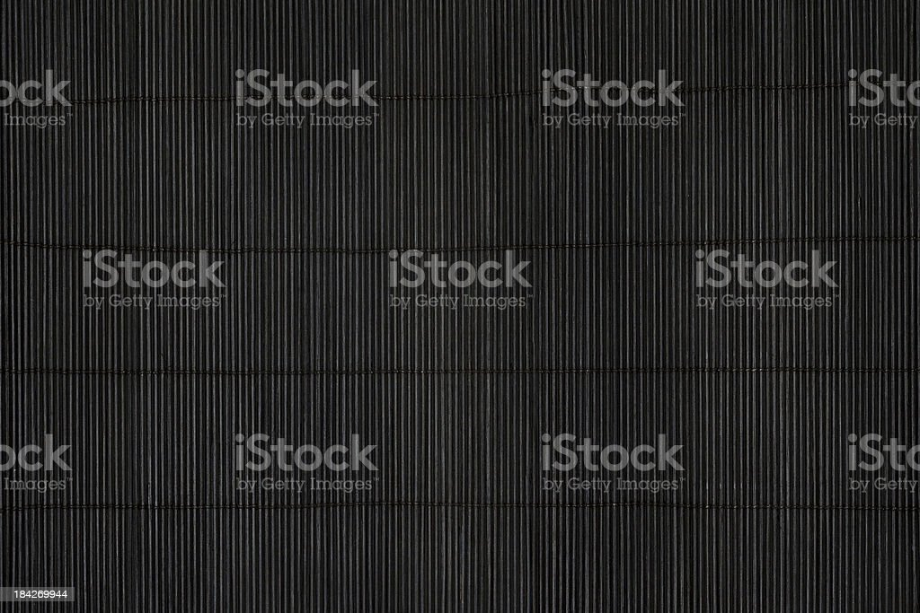 Black mat stock photo