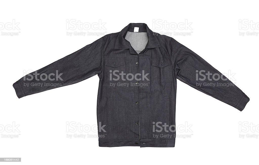 Black men jeans shirt stock photo