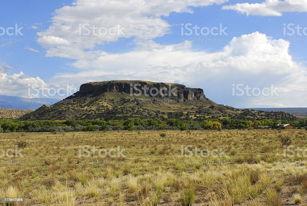 Black Mesa stock photo