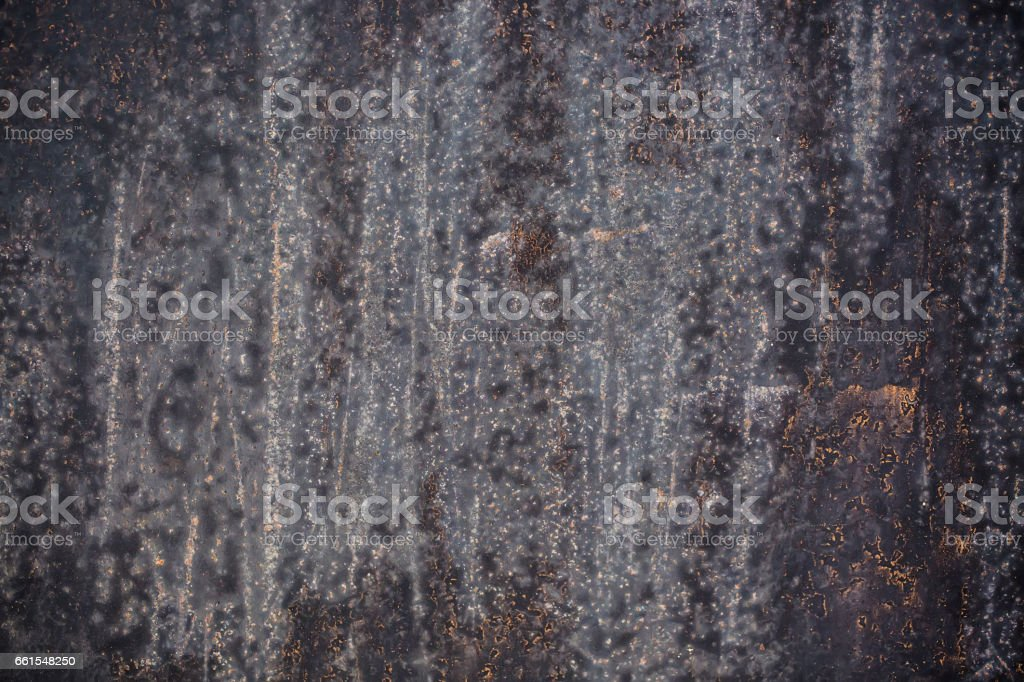 Black metal corroded texture background stock photo