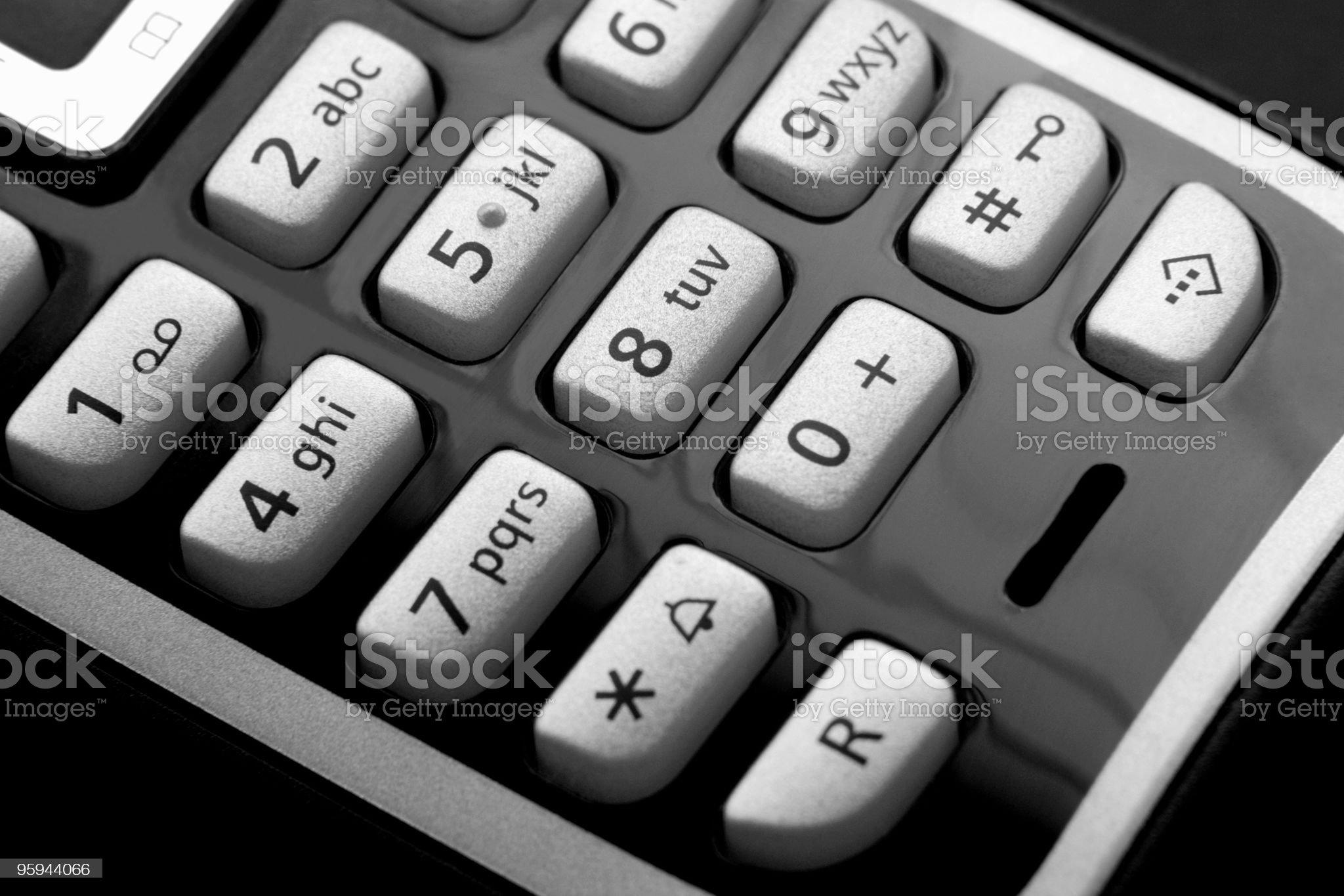 black mobile phone detail royalty-free stock photo