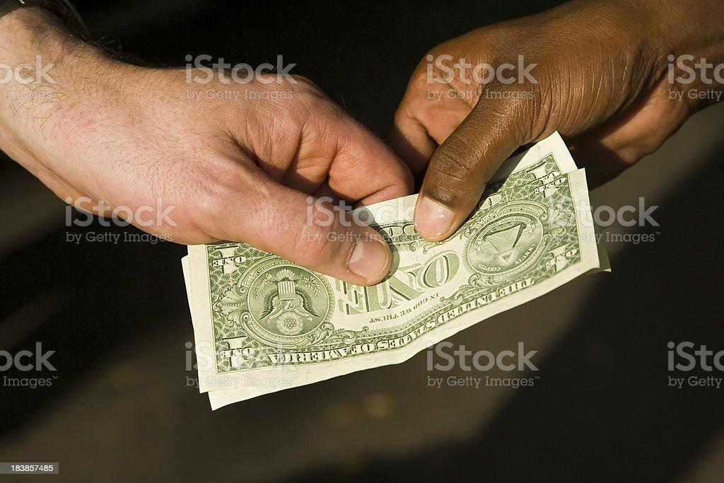 Black money royalty-free stock photo