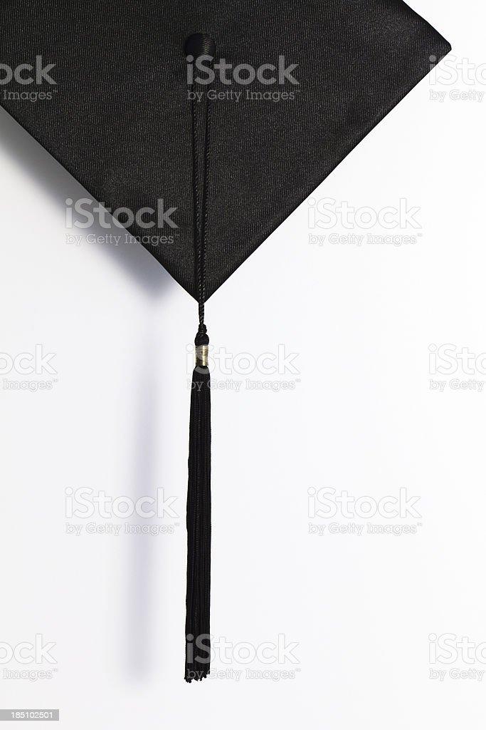 Black Mortar Board royalty-free stock photo