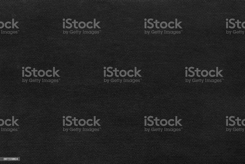 Black nonwoven fabric texture stock photo
