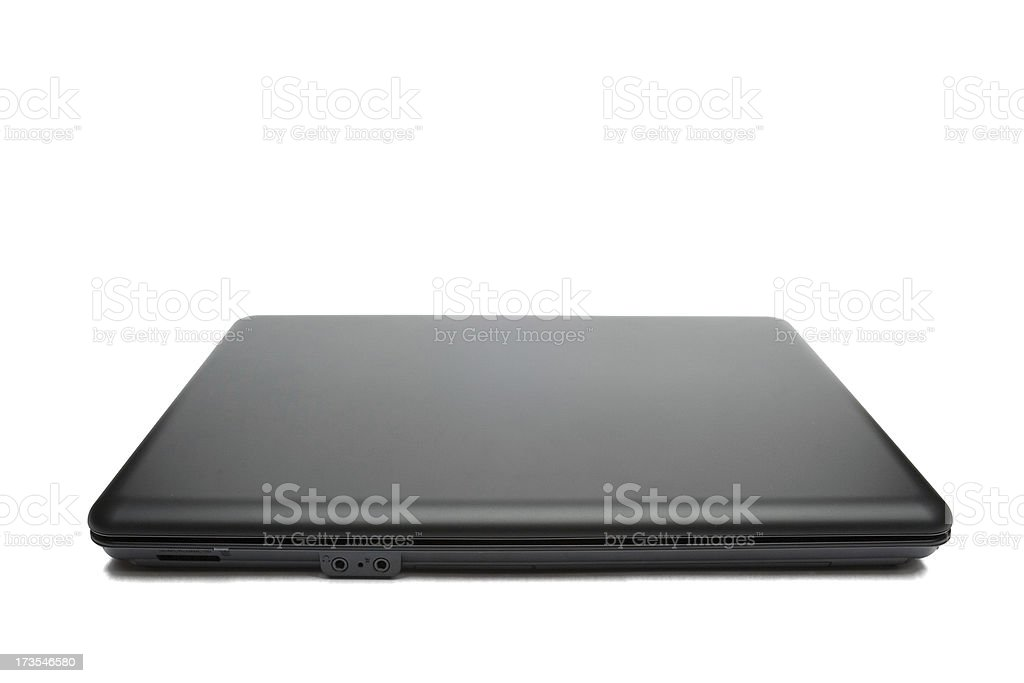 Black notebook royalty-free stock photo