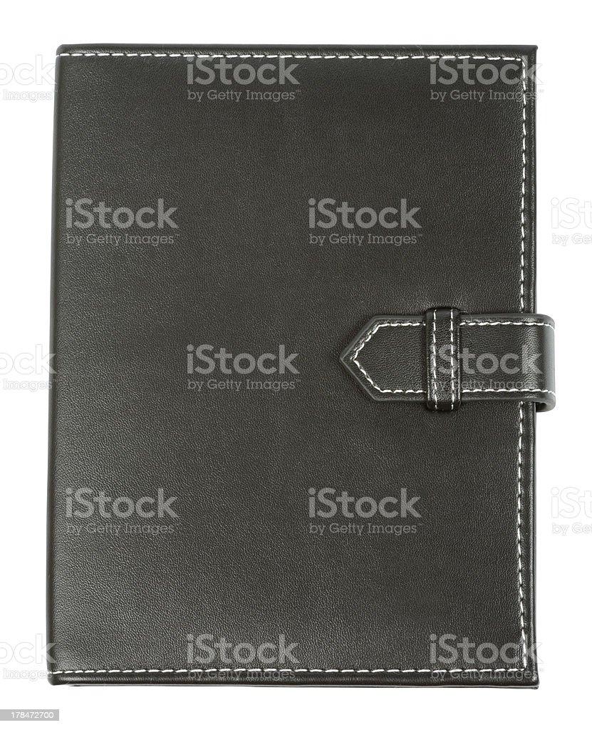 Black Notebook stock photo
