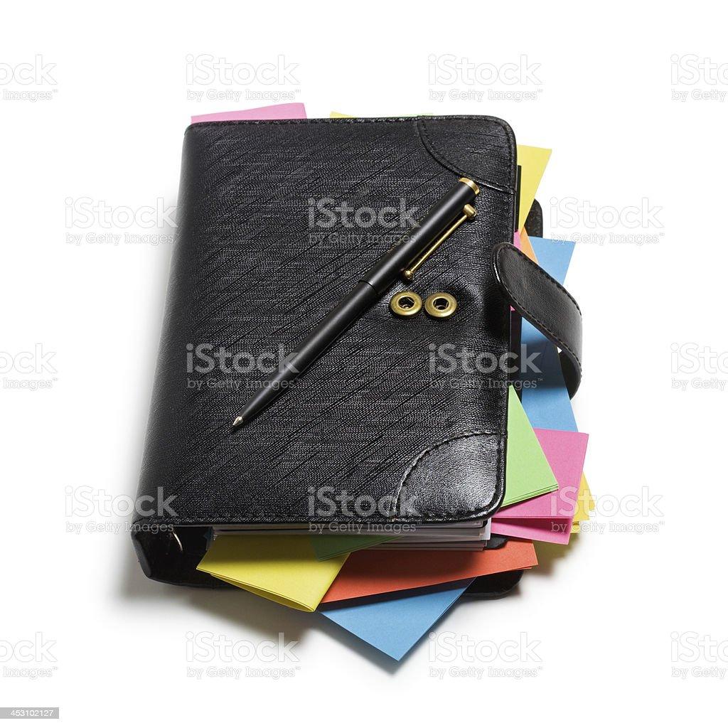 Black Notebook royalty-free stock photo