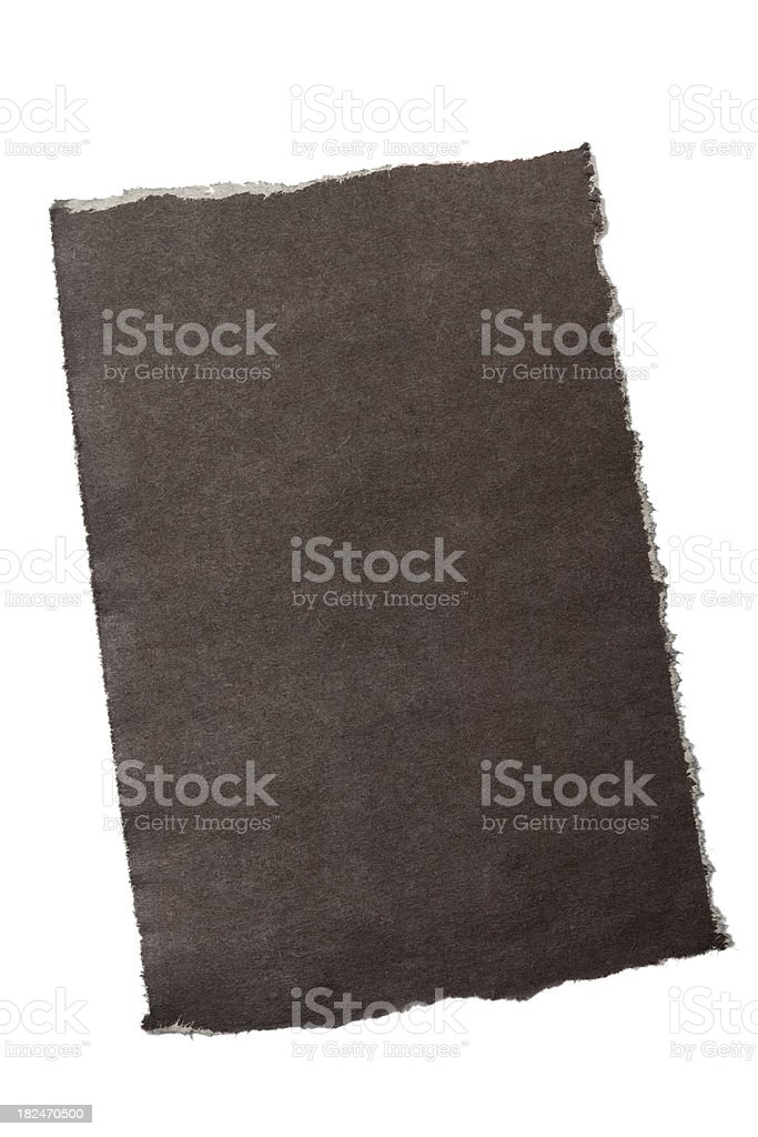 Black note-paper royalty-free stock photo