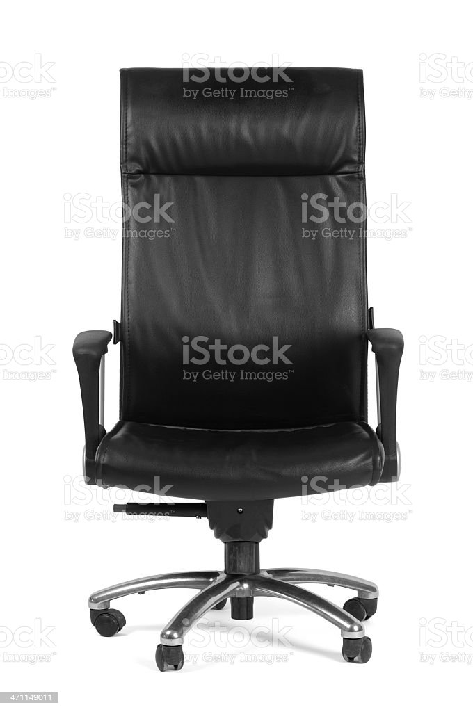 Black Office Chair royalty-free stock photo