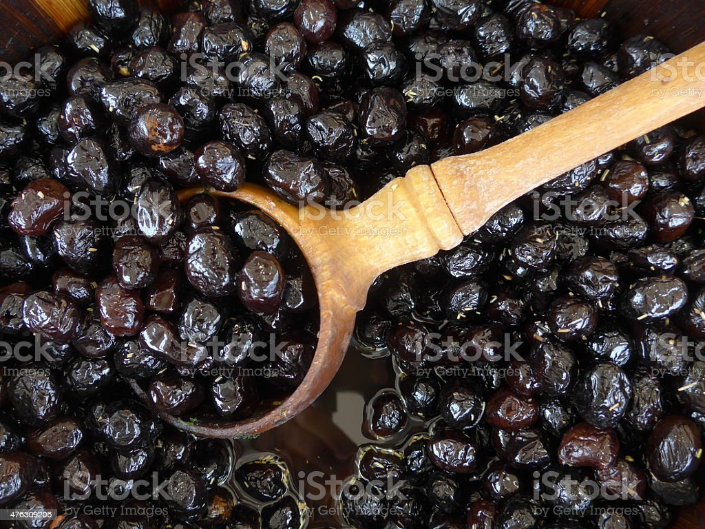 Black olives - Bild stock photo