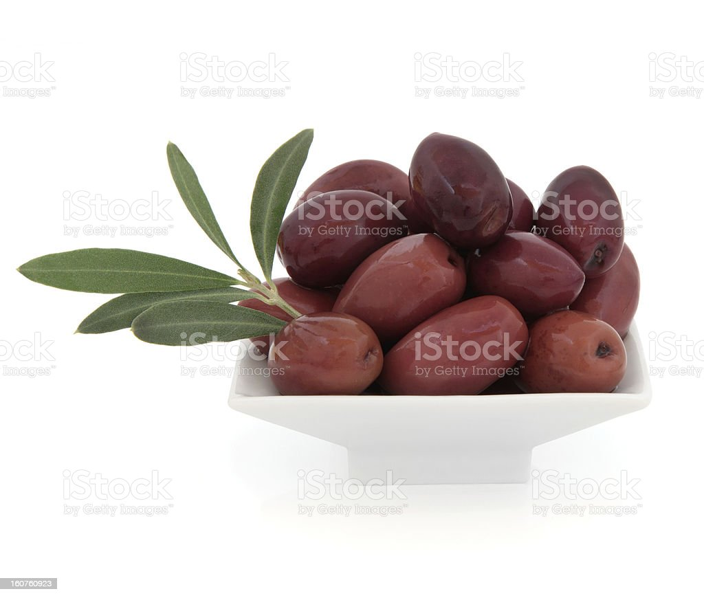 Black Olives royalty-free stock photo
