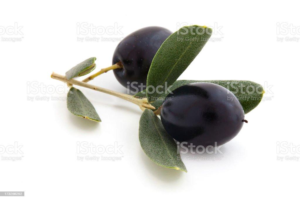 Black Olives. stock photo