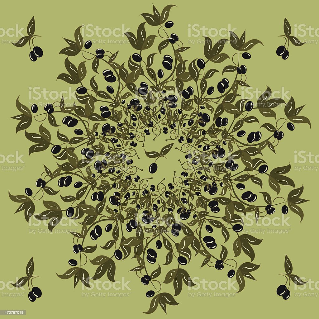Black olives. royalty-free stock photo
