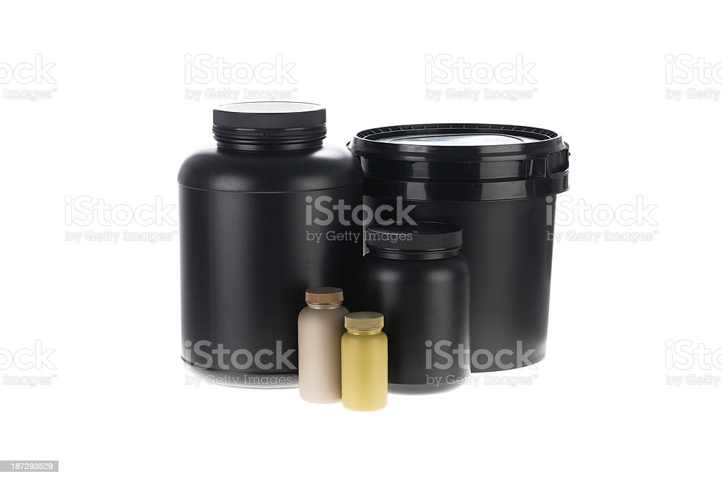 Black pack royalty-free stock photo