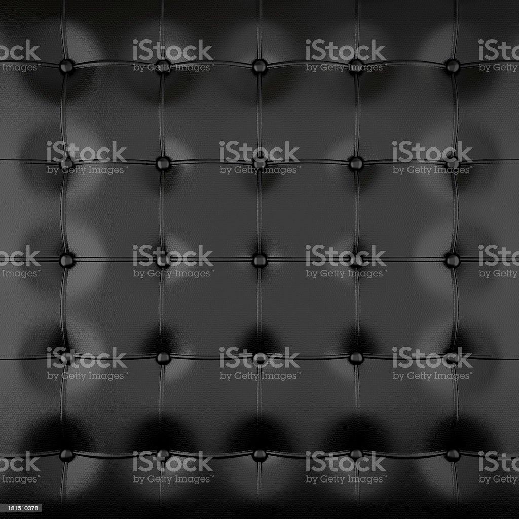 black padded leather royalty-free stock photo