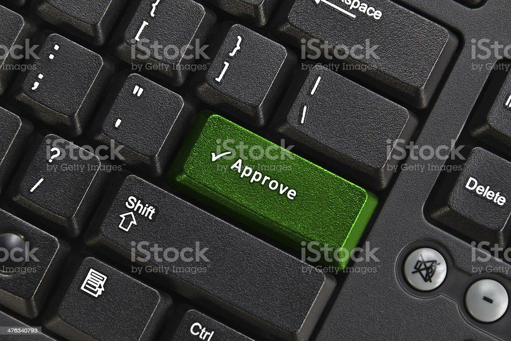 Black pc keyboard royalty-free stock photo