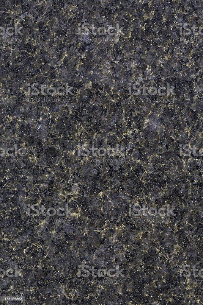 Black Pearl Granite stock photo