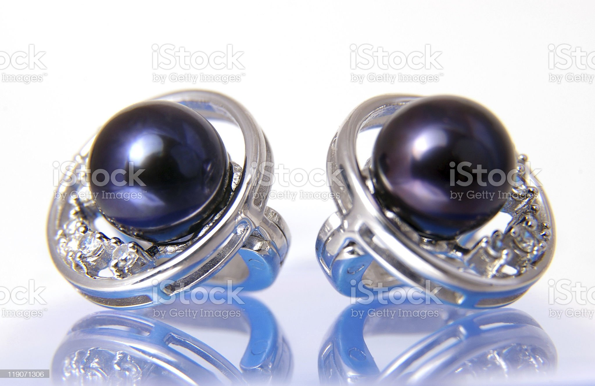 black pearls royalty-free stock photo