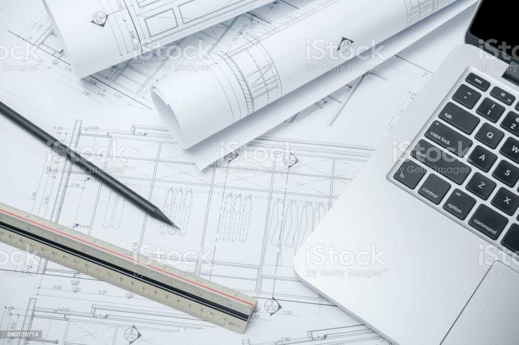 Architecture Drawing Paper tracing paper pictures, images and stock photos - istock